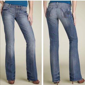 Short COH Boho #111 Bootcut Distressed Denim Jeans